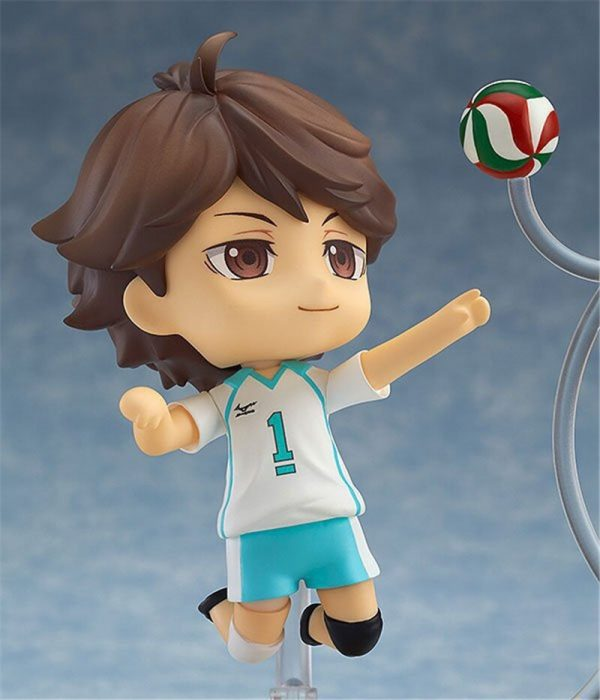Cute Anime Haikyuu Volleyball Athlete Oikawa Tooru 563 PVC Action Figure Collection Model Kids Toys Doll 2 - Haikyuu Merch Store