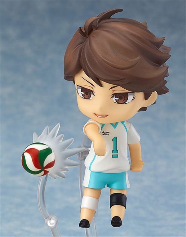 Cute Anime Haikyuu Volleyball Athlete Oikawa Tooru 563 PVC Action Figure Collection Model Kids Toys Doll 3 - Haikyuu Merch Store
