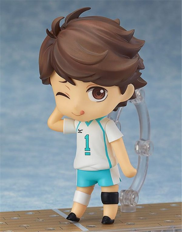 Cute Anime Haikyuu Volleyball Athlete Oikawa Tooru 563 PVC Action Figure Collection Model Kids Toys Doll 4 - Haikyuu Merch Store