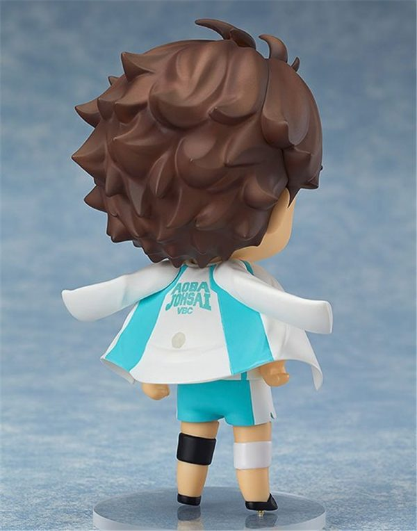 Cute Anime Haikyuu Volleyball Athlete Oikawa Tooru 563 PVC Action Figure Collection Model Kids Toys Doll 5 - Haikyuu Merch Store