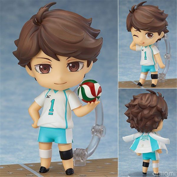 Cute Anime Haikyuu Volleyball Athlete Oikawa Tooru 563 PVC Action Figure Collection Model Kids Toys Doll - Haikyuu Merch Store