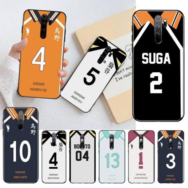 HAIKYUU Custom Jersey Phone Case Cover for Redmi Note 8 8A 8T 7 6 6A 5 - Haikyuu Merch Store