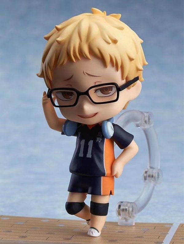 Haikyuu Kei Tsukishima 616 PVC Action Figure Anime Haikyuu Tsukishima Cute Model Toy Figurine 100mm 1 - Haikyuu Merch Store
