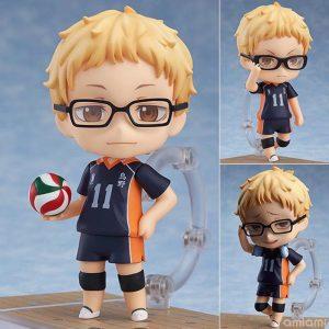 Haikyuu Kei Tsukishima 616 PVC Action Figure Anime Haikyuu Tsukishima Cute Model Toy Figurine 100mm - Haikyuu Merch Store
