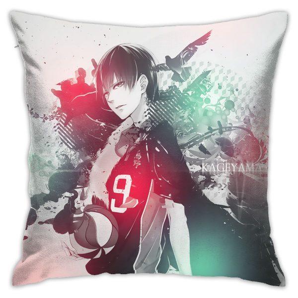 Haikyuu Pillow Cover Home Cushio Cover haikyuu cosplay 45 45cm Decoratives Cushions For Sofa Seater Covers 1 - Haikyuu Merch Store
