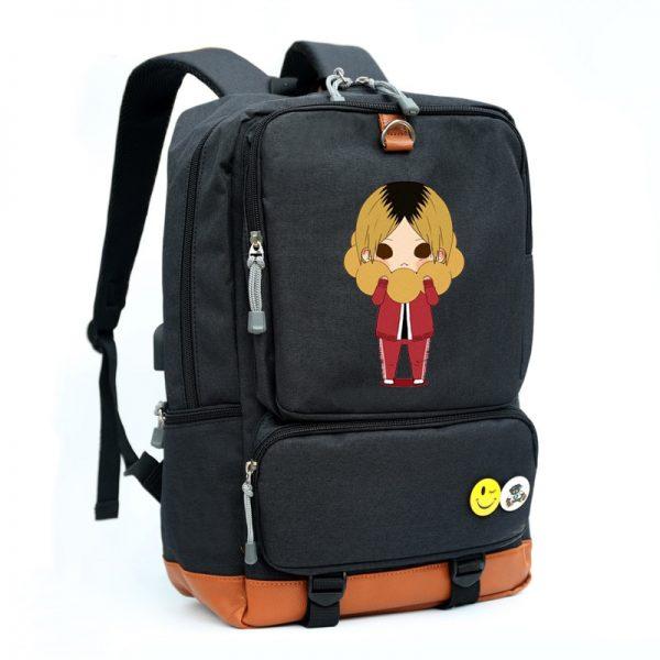 Hinata Shoyo Kozume Kenma Cosplay Bag Haikyuu Printing Canvas School bag Backpacks for men and women - Haikyuu Merch Store