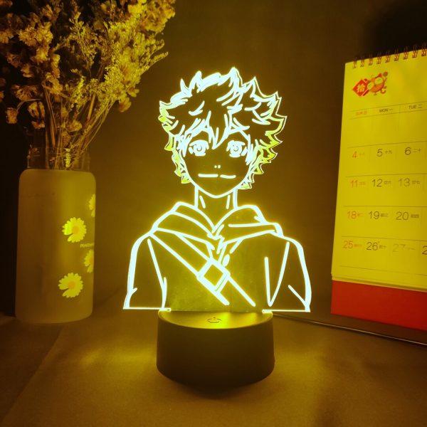 Japanese Anime Haikyuu Hinata Shoyo Volleyball 3D Nightlights LED Manga Gift Bedside Table Lamp Lights for - Haikyuu Merch Store