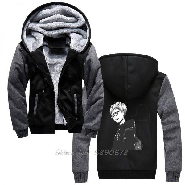 Men s Hoodies Tsukishima Kei Vintage Haikyuu Anime Men Winter Thick Keep Warm Hoodies Sportswear Sweatshirts 1 - Haikyuu Merch Store