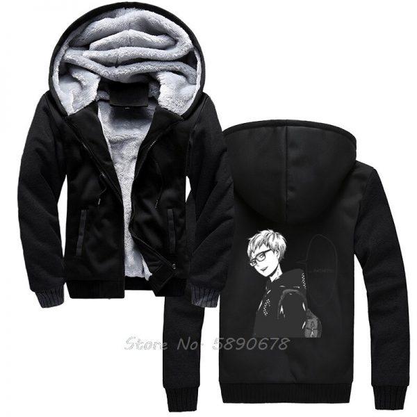 Men s Hoodies Tsukishima Kei Vintage Haikyuu Anime Men Winter Thick Keep Warm Hoodies Sportswear Sweatshirts 2 - Haikyuu Merch Store