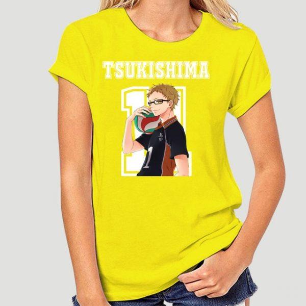New Style Tsukishima Kei Haikyuu Anime T Shirt Funko Pop Mens Clothes O neck Cotton Big 13.jpg 640x640 13 - Haikyuu Merch Store