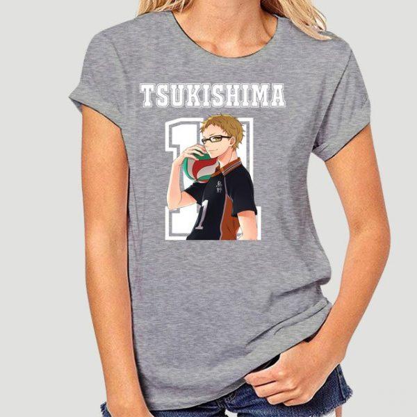 New Style Tsukishima Kei Haikyuu Anime T Shirt Funko Pop Mens Clothes O neck Cotton Big 5.jpg 640x640 5 - Haikyuu Merch Store