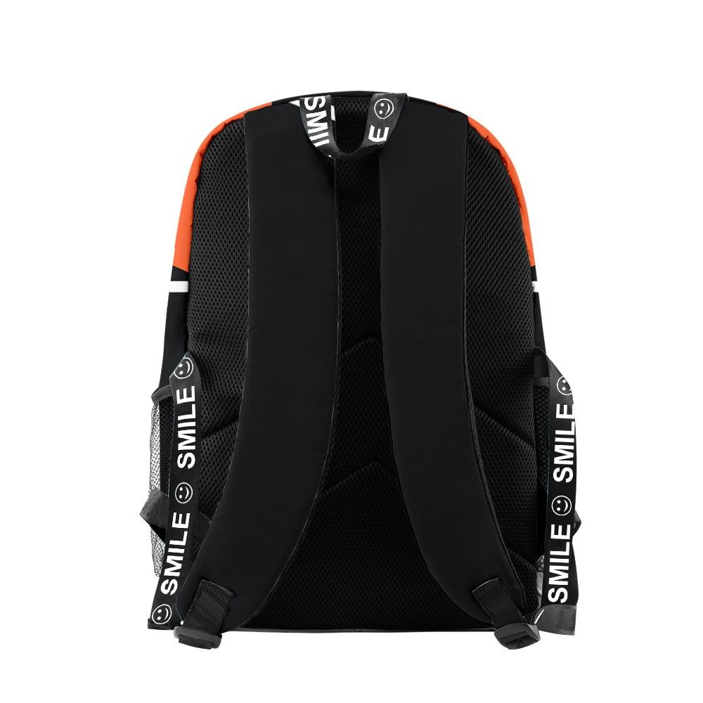 Haikyuu Backpack Student Zipper Bag