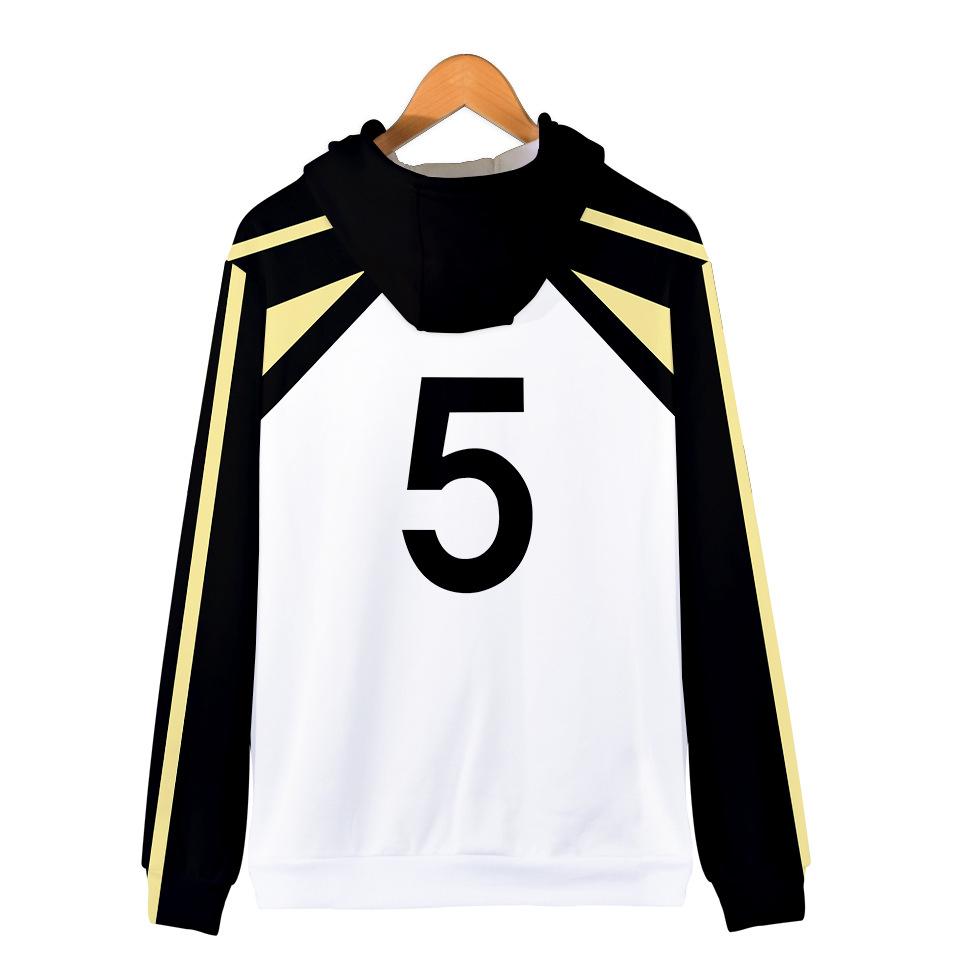 Haikyuu Jacket Merch: Keiji Akaashi Zipped Jacket