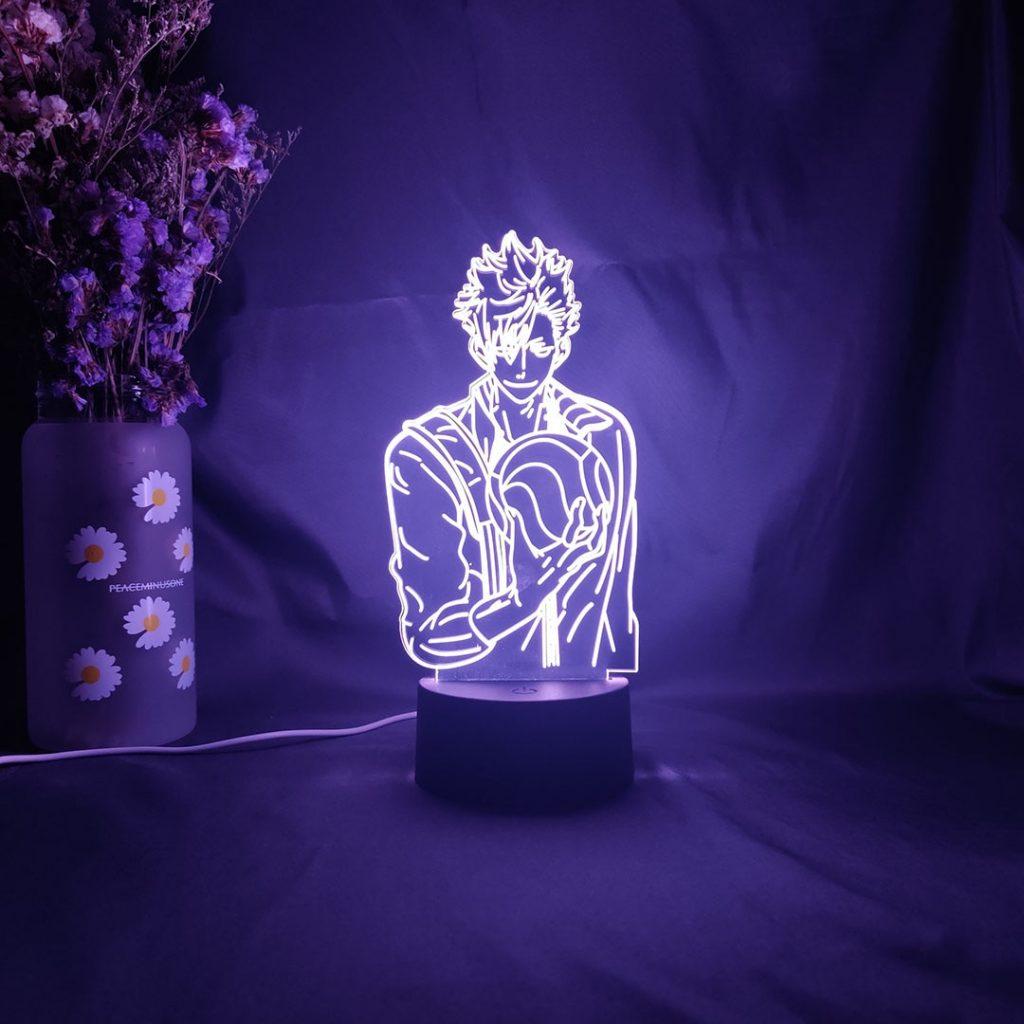 Haikyuu Led Lamp Merch - 3D Illusion Tetsuro Kuroo Led Lamp Figure