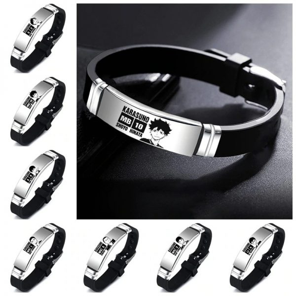 haikyuu oikawa tooru leather bracelet ac main 0 - Haikyuu Merch Store