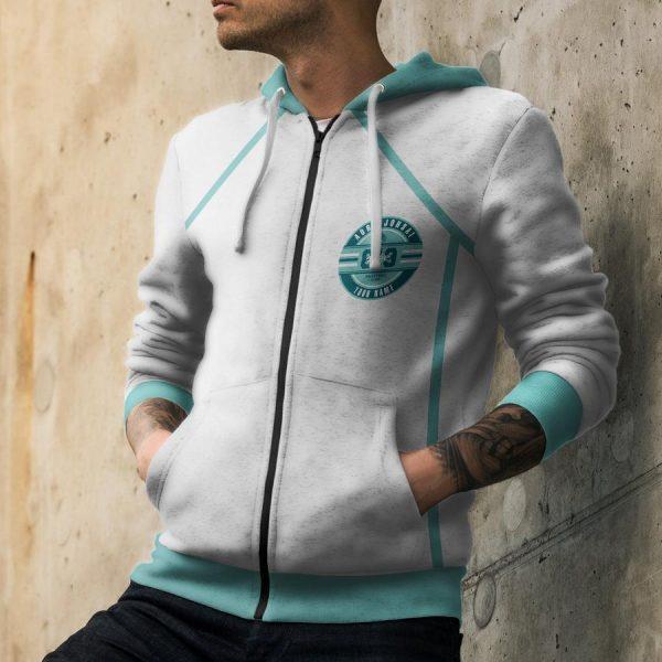 personalized 819 aoba johsai unisex zipped hoodie - Haikyuu Merch Store