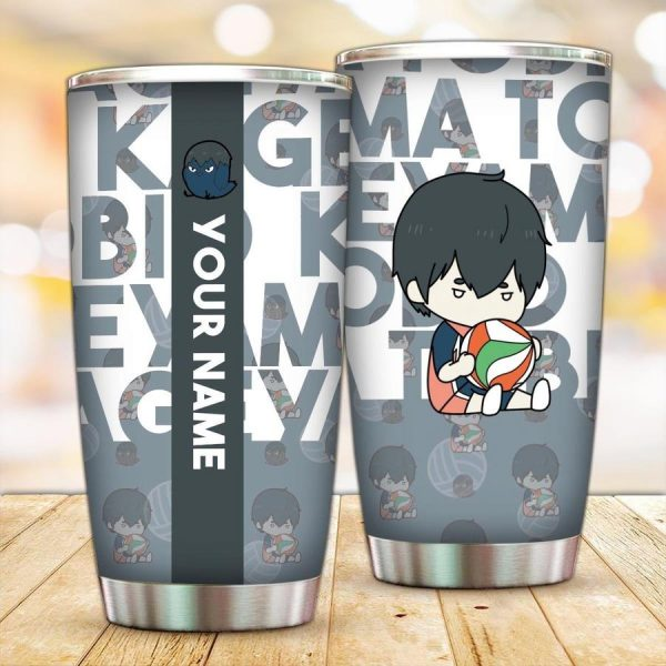 personalized chibi kageyama tobio tumbler - Haikyuu Merch Store