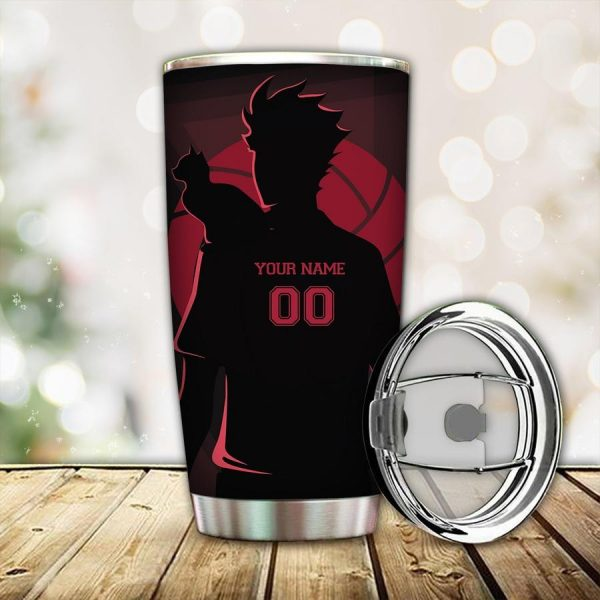 personalized connect the ball tumbler - Haikyuu Merch Store
