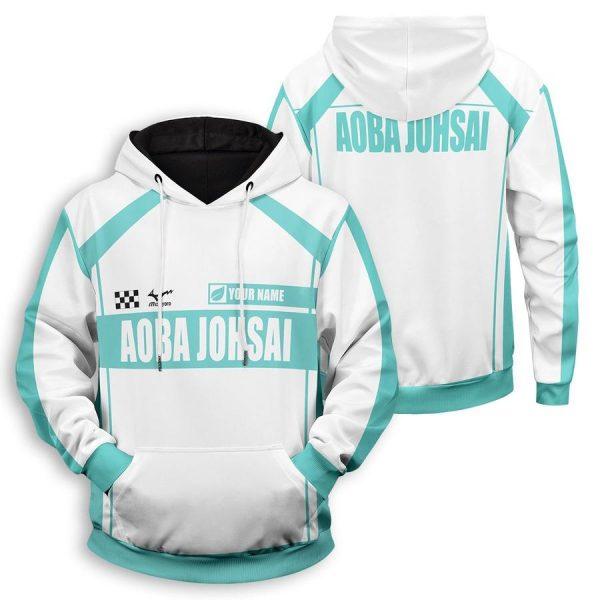personalized f1 aoba johsai unisex pullover hoodie - Haikyuu Merch Store