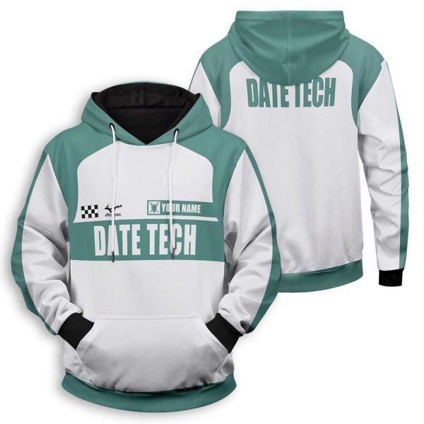 personalized f1 datekou unisex pullover hoodie - Haikyuu Merch Store