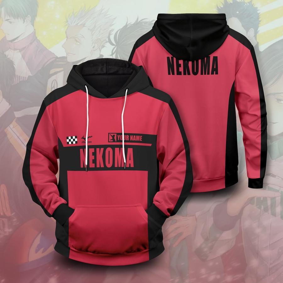personalized f1 nekoma unisex pullover hoodie - Haikyuu Merch Store