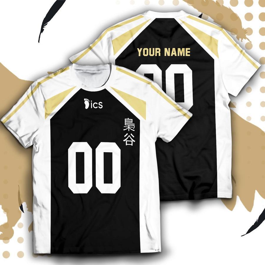 personalized fukurodani libero unisex t shirt - Haikyuu Merch Store