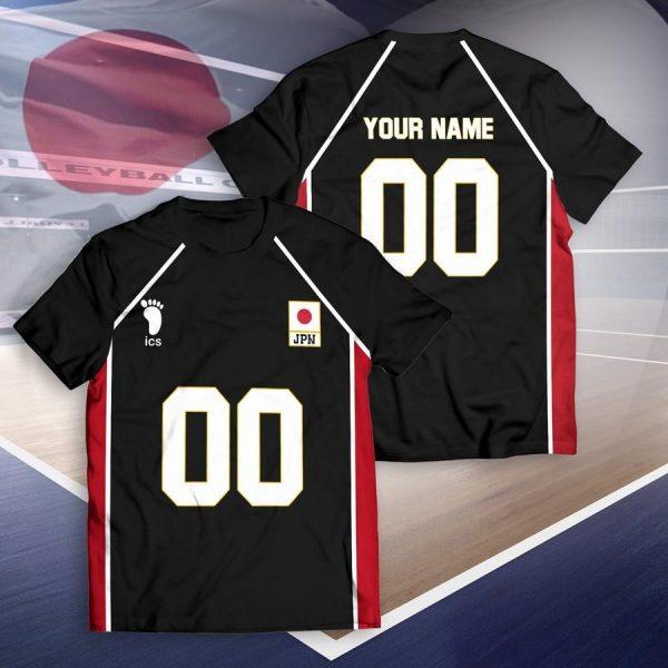 personalized haikyuu national team libero unisex t shirt - Haikyuu Merch Store