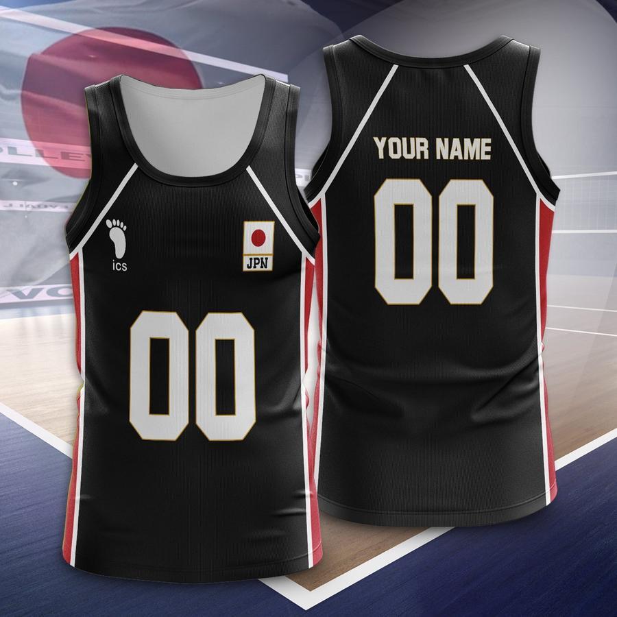personalized haikyuu national team libero unisex tank tops - Haikyuu Merch Store