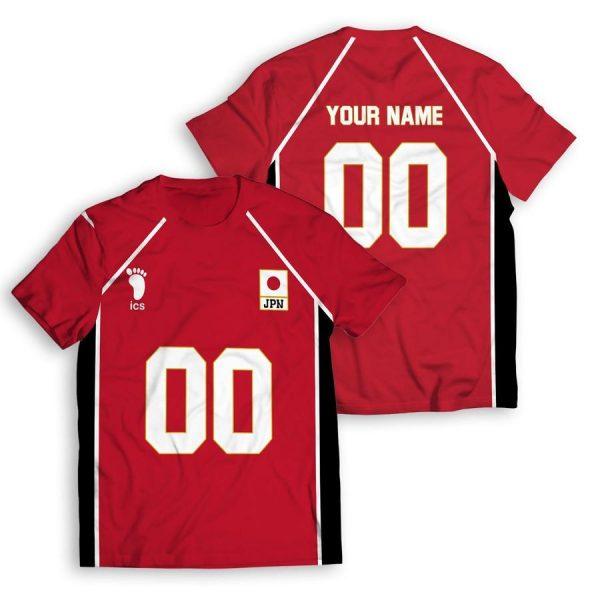 personalized haikyuu national team unisex t shirt - Haikyuu Merch Store