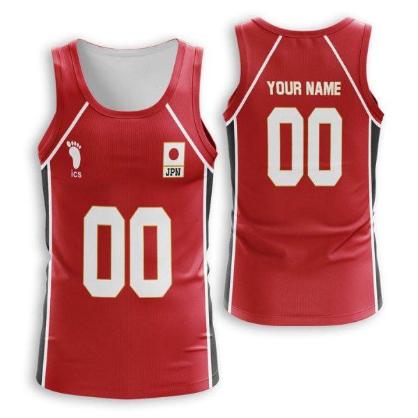 personalized haikyuu national team unisex tank tops - Haikyuu Merch Store