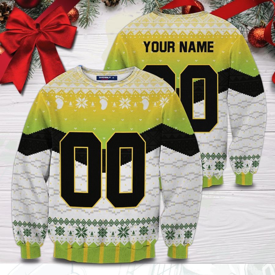 personalized itachiyama christmas unisex wool sweater - Haikyuu Merch Store