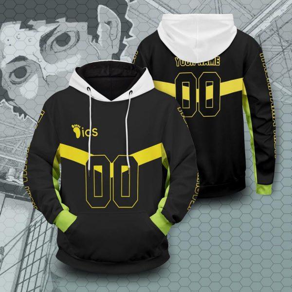 personalized itachiyama libero unisex pullover hoodie - Haikyuu Merch Store