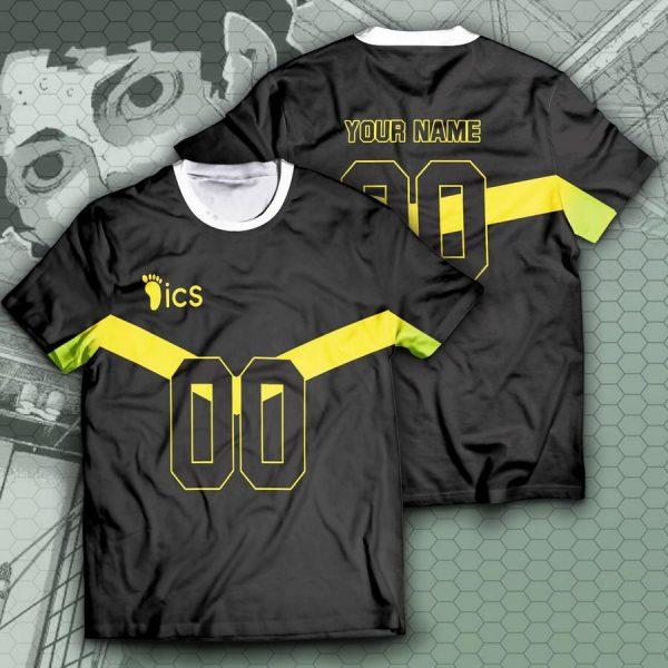 personalized itachiyama libero unisex t shirt - Haikyuu Merch Store