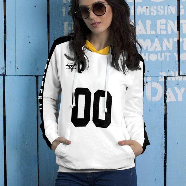 personalized johzenji libero unisex pullover hoodie - Haikyuu Merch Store