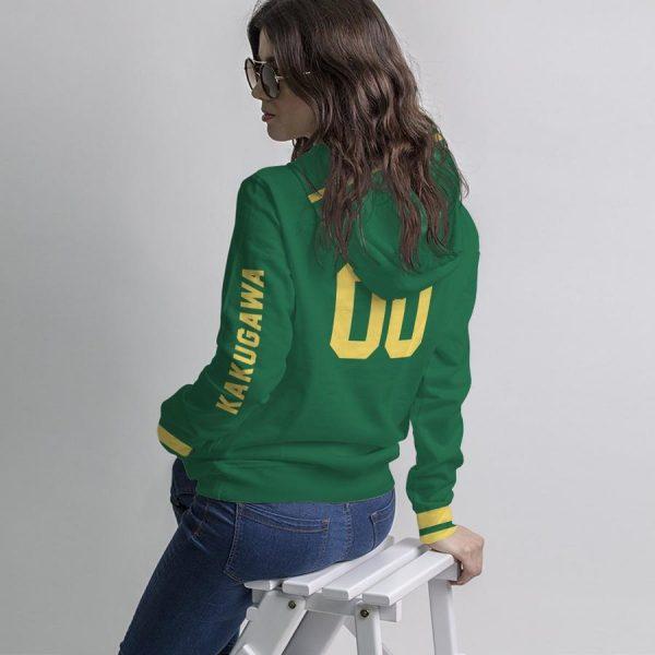 personalized kakugawa libero unisex pullover hoodie - Haikyuu Merch Store
