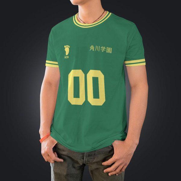 personalized kakugawa libero unisex t shirt - Haikyuu Merch Store