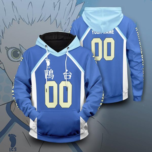 personalized kamomedai libero unisex pullover hoodie - Haikyuu Merch Store