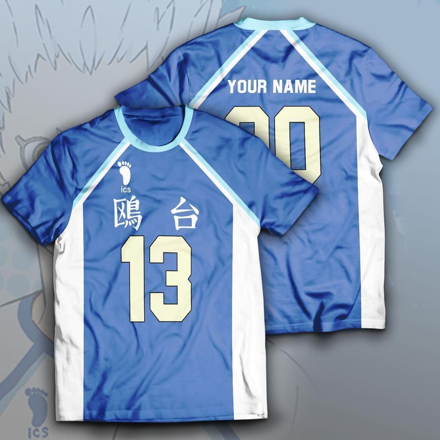 personalized kamomedai libero unisex t shirt - Haikyuu Merch Store