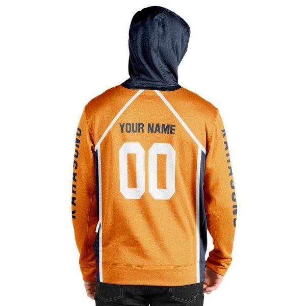 personalized karasuno libero unisex pullover hoodie - Haikyuu Merch Store