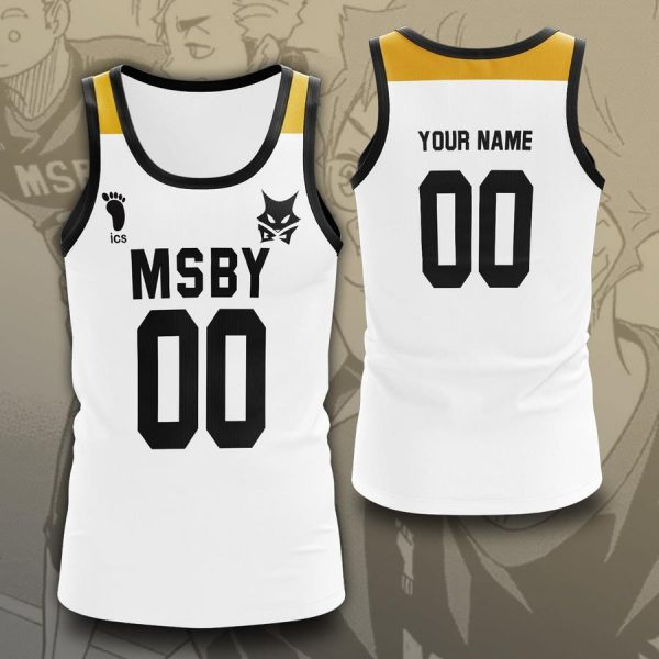 personalized msby black jackals libero unisex tank tops - Haikyuu Merch Store