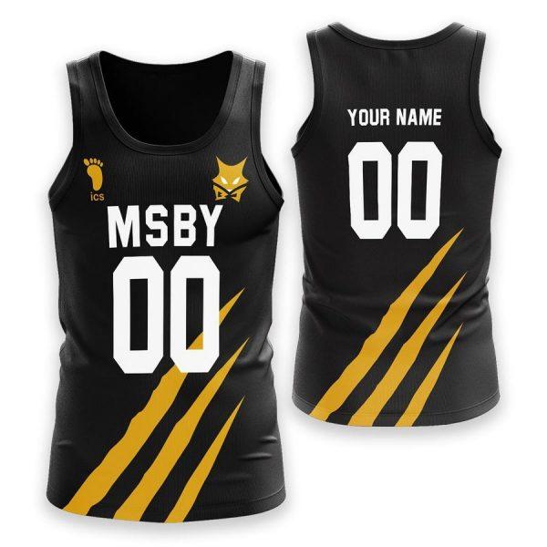 personalized msby black jackals unisex tank tops - Haikyuu Merch Store