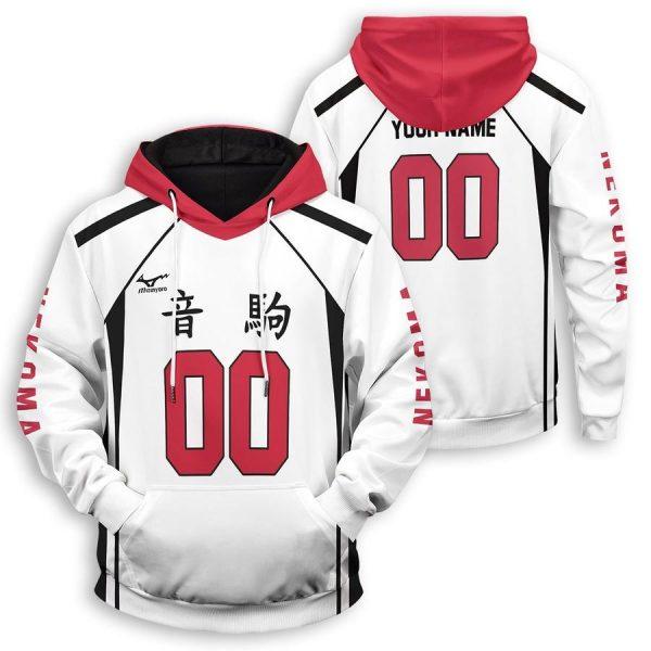 personalized nekoma libero unisex pullover hoodie - Haikyuu Merch Store