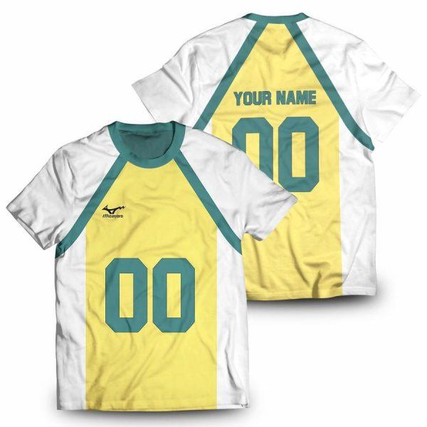 personalized nohebi libero unisex t shirt - Haikyuu Merch Store