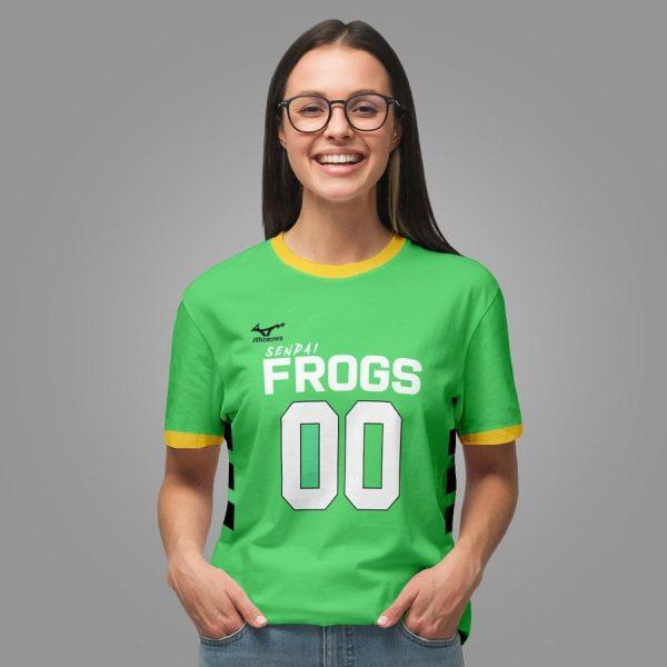 personalized sendai frogs unisex t shirt - Haikyuu Merch Store
