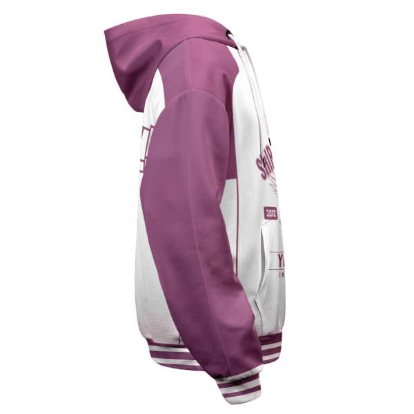 personalized shiratorizawa intense force unisex pullover hoodie - Haikyuu Merch Store