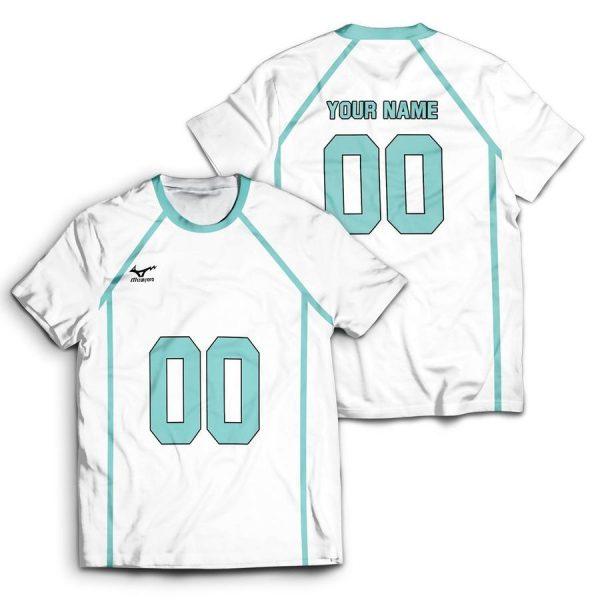 personalized team aoba johsai unisex t shirt - Haikyuu Merch Store