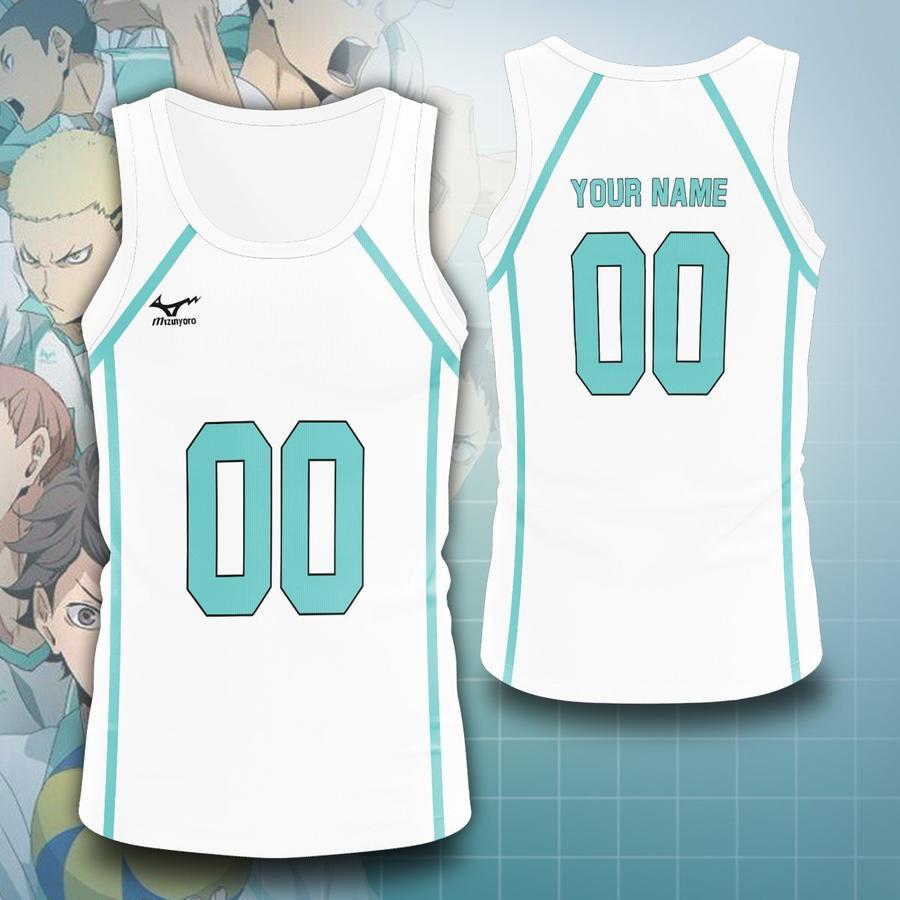 personalized team aoba johsai unisex tank tops - Haikyuu Merch Store