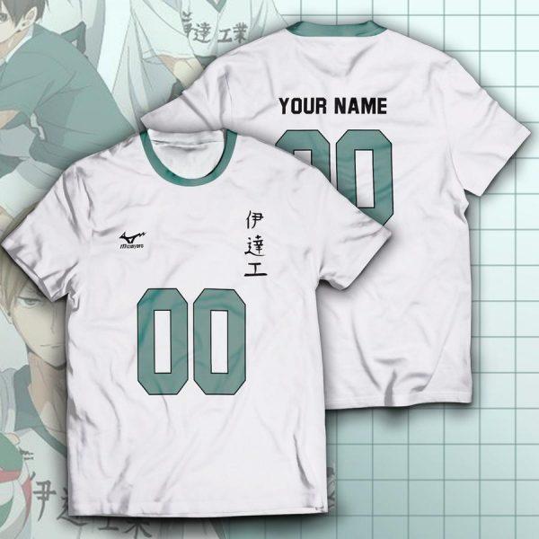 personalized team datekou unisex t shirt - Haikyuu Merch Store
