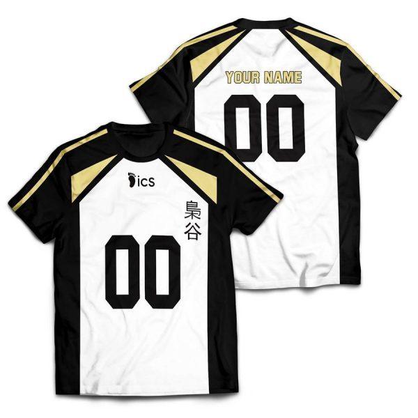 personalized team fukurodani unisex t shirt - Haikyuu Merch Store