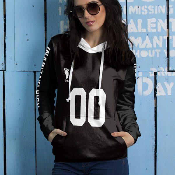 personalized team inarizaki unisex pullover hoodie - Haikyuu Merch Store